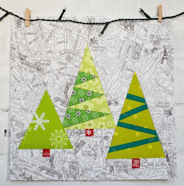 Paper Pieced Christmas Trees Favequilts Com