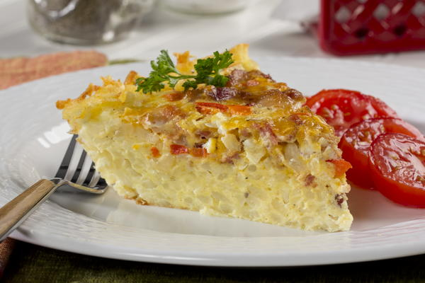 Hash Brown Breakfast Pie