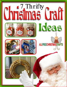 7 Thrifty Christmas Craft Ideas free eBook