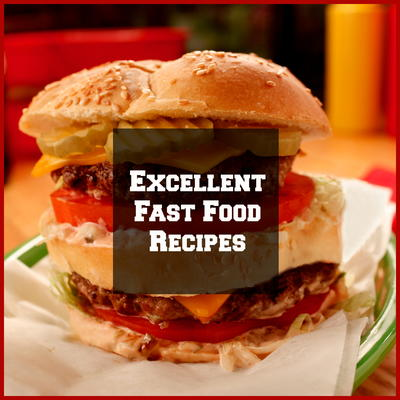 10 excellent fast food recipes mrfood time and money taking your family out to dinner when you can make restaurant quality dinners right in your own kitchen these fast food recipes forumfinder Image collections