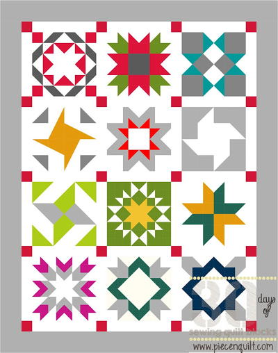 Star Sampler Quilt Pattern FaveQuilts Interesting Sampler Quilt Patterns