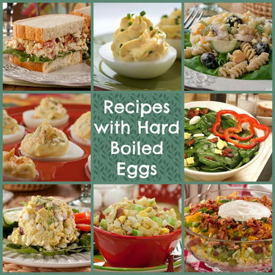Recipes with Hard Boiled Eggs
