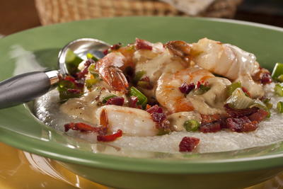 Paulas Shrimp and Grits