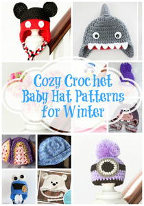 21 Cozy Crochet Baby Hat Patterns for Winter