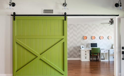 DIY Barn Sliding Door Design