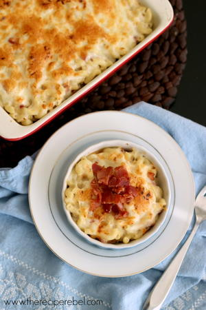 Marvelous Maple Bacon Mac and Cheese