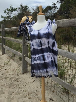 Tie Dye Beach Cover Up