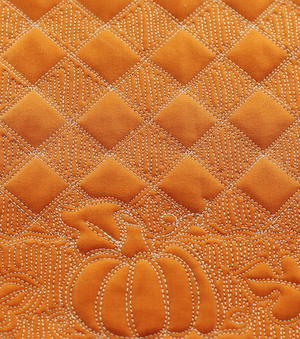 Basket Weave Free Motion Quilting
