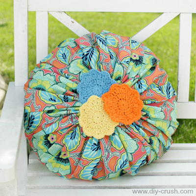 Blossom Pillow Sewing Pattern