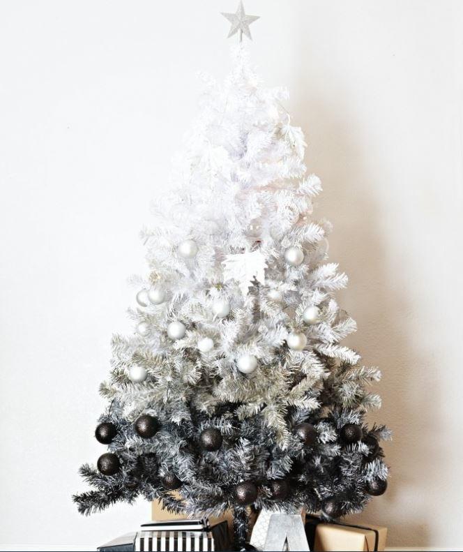 Diy Ombre Christmas Tree Allfreeholidaycrafts Com