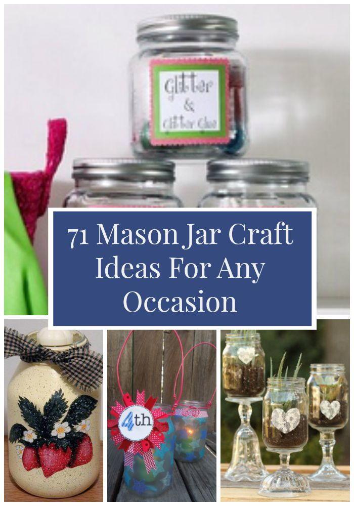 71 Mason Jar Craft Ideas For Any Occasion Favecrafts Com