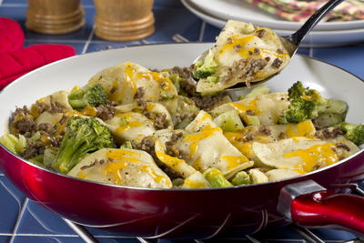 All in One Pierogi Skillet