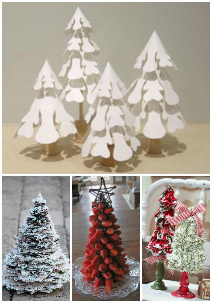 Beau 14 Small Christmas Tree Ideas: Tabletop Trees, Home Decor And More |  AllFreeChristmasCrafts.com