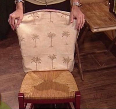 Make a Chair Slipcover