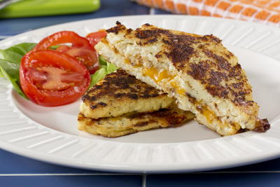 Low-Carb Grilled Cheese
