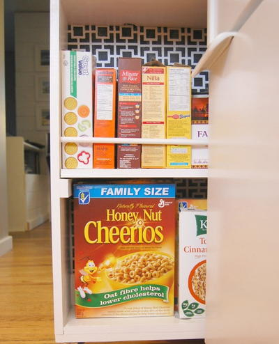 Space Saving Kitchen Pantry Storage