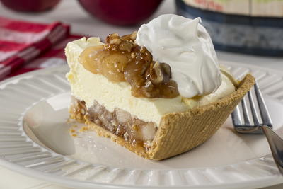 Apple Pecan Cream Pie