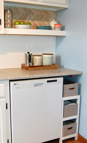 Kitchen Solution DIY Storage Shelf