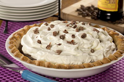 Dreamy Mocha Cream Pie