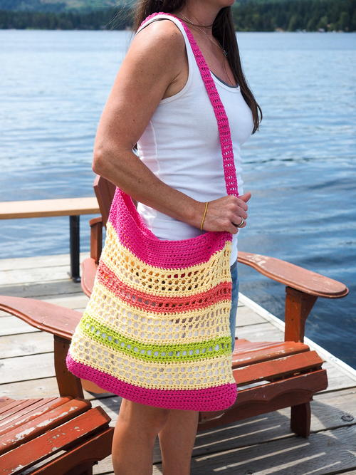 Crochet Beach Tote Bag Pattern Favecrafts
