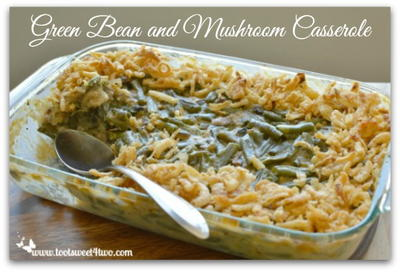 Make-Ahead Green Bean Casserole with Mushrooms
