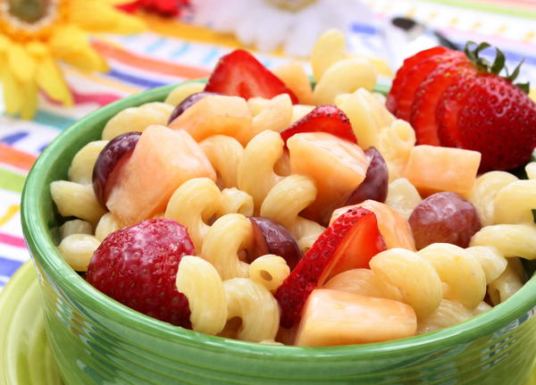 Pasta Fruit Salad