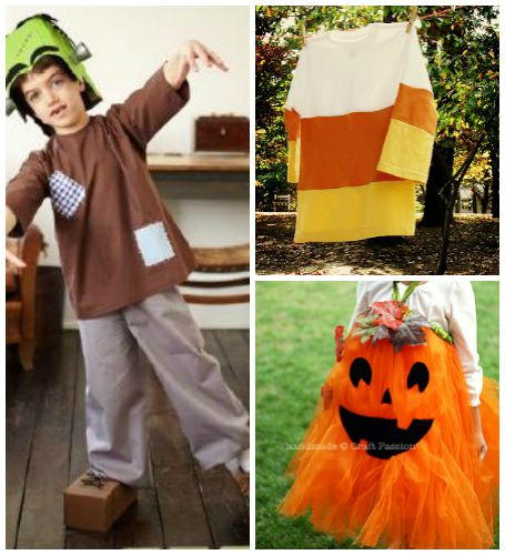 How to Make Your Own Halloween Costumes 9 DIY Halloween Costumes eBook  sc 1 st  AllFreeSewing & 25 Homemade Halloween Costumes + 5 New Baby Halloween Costume Ideas ...