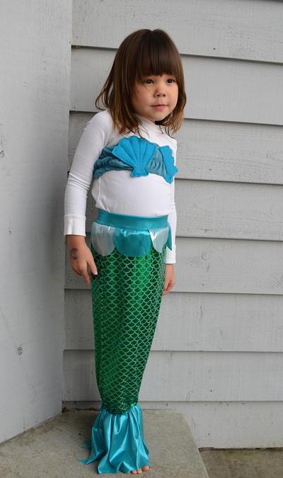 Homemade Mermaid Costume Pattern AllFreeSewing Fascinating Mermaid Costume Pattern