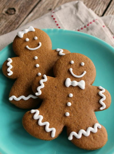 Best Ever Gingerbread Cookies