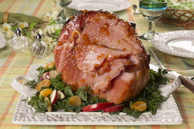 Farmhouse Glazed Ham