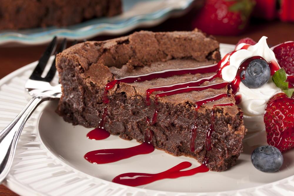 Flourless Chocolate Torte Mrfood Com