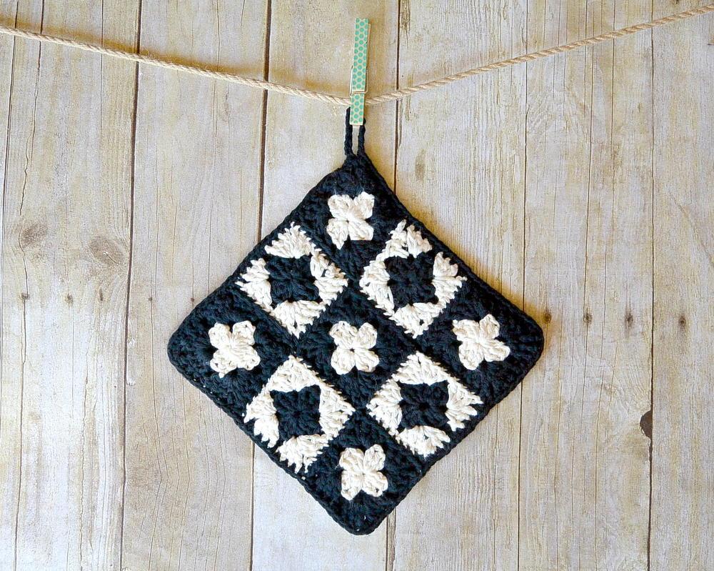 Vintage Inspired Crochet Potholder Allfreecrochet