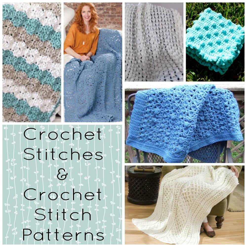 Crochet Stitches & Crochet Stitch Patterns ...