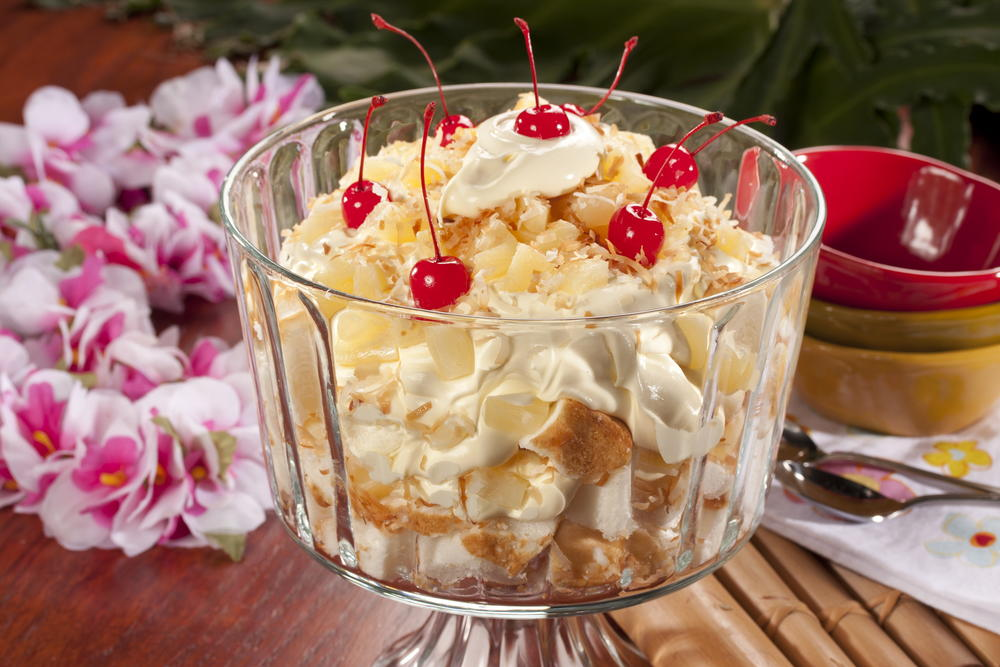 Pina Colada Trifle Mrfood Com