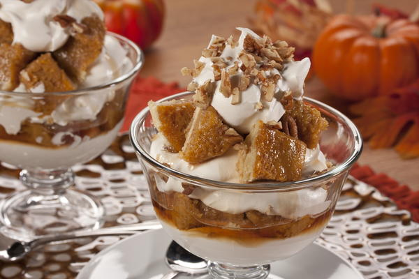 Pumpkin Nut Trifle