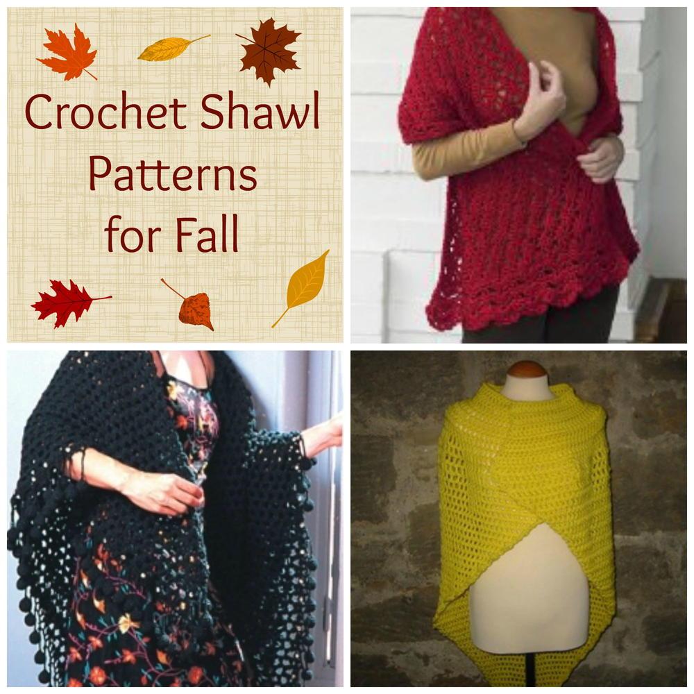 8 Crochet Shawl Patterns For Fall Allfreecrochet