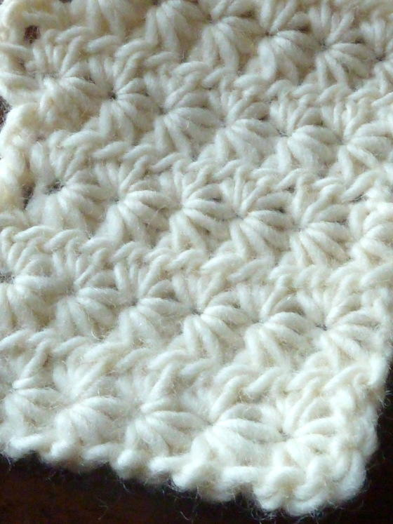 Crochet Stitches Video Tutorials : How to Crochet Star Stitch Tutorial AllFreeCrochetAfghanPatterns.com