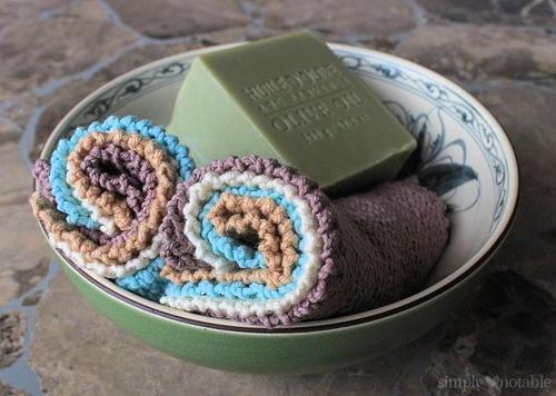 Jelly Roll Knitted Washcloth Pattern Allfreeknitting