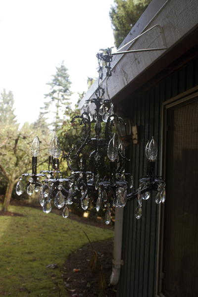 Glamorous Diy Outdoor Chandelier Favecrafts Com
