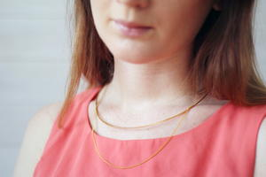 Collar and Chain DIY Necklace