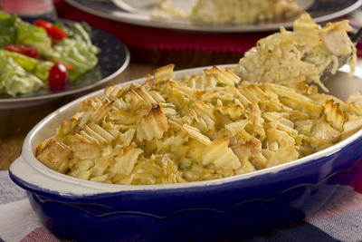Frontier Chicken and Noodle Casserole