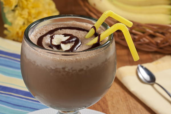 Frozen Banana Latte