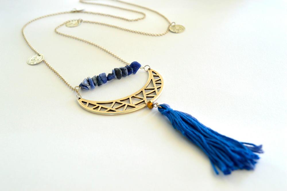 boho tassel diy necklace favecraftscom