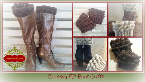 Easy Crochet Boot Cuffs Favecrafts