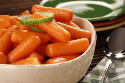 Glazed Baby Carrots
