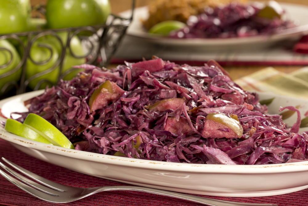 Grandma Irma's Red Cabbage | MrFood.com