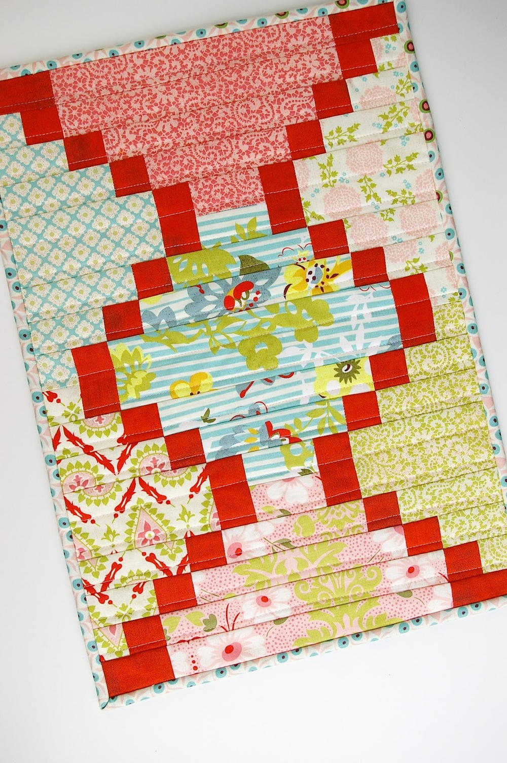 Twisted Bargello Quilt Pattern Free Simple Design Inspiration