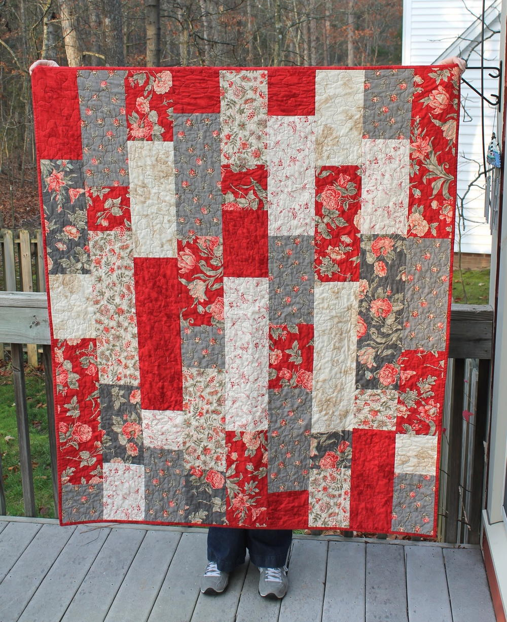 Tifton Tiles Fat Quarter Quilt Favequilts Com