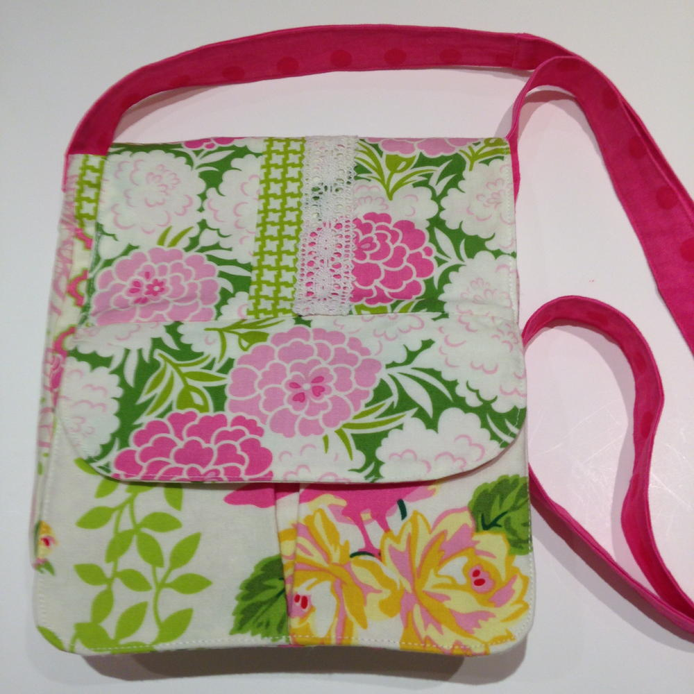 Floral Crossbody Purse Allfreesewing Com