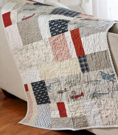 The Lazy Quilters Quilt